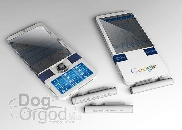 Google的互联网手机 - Googlephone